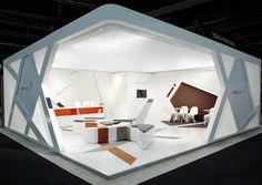 Furniture Design Exhibition carpet concept - de: furniture fair 2010 | booth design