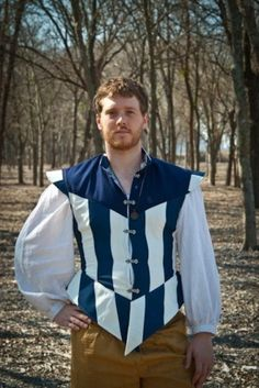 Striped doublet