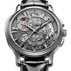 Zenith - Academy - Open Repetition Minutes watch man's accessories masculine watch