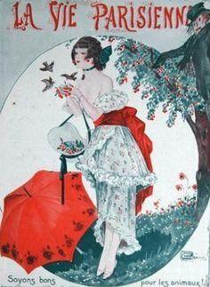 La Vie Parisienne 1914 ~ Georges Léonnec