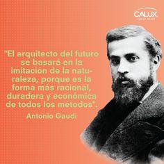 Antonio Gaudí fue un arquitecto español, máximo representante del modernismo catalán. Entre sus obras más reconocidas se encuentra la Sagrada Familia de Barcelona.