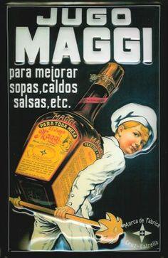 Annuncio pubblicitario Maggi in Spagna