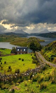THE HIGHLANDS, SCOTLAND So appeals to my book reading, coffee drinking, fuzzy sock wearing peaceful soul