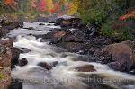 Fall Colours Of Parc National Du Mont Tremblant Quebec Canada