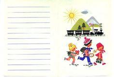 DDR Briefpapier Ferienlager