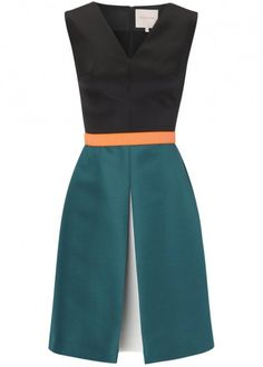 Ooohhhh....LOVE! Riley belted dupion dress