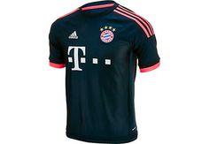 adidas Bayern Munich 3rd Jersey 2015-2016. Available at www.soccerpro.com today!