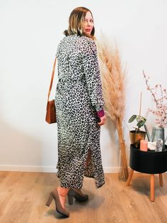 Jurk Devanshu African Leopard Sustainable Clothes, African Leopard, Dresses With Sleeves, Long Sleeve, Fashion, Moda, Sleeve Dresses, Long Dress Patterns, Fashion Styles