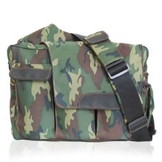 Diaper Dude Messenger Ii Diaper Bag - Camo..