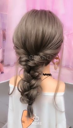 MORE PICTS You can also see more ideas about summer hairstyles blonde , summer hairstyles scarf , summer hairstyles lob , summer hairstyles . Hair Tutorials For Medium Hair, Medium Hair Styles, Curly Hair Styles, Summer Hairstyles, Girl Hairstyles, Braided Hairstyles, Easy Pretty Hairstyles, Hairstyles Videos, Creative Hairstyles