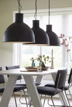 matte black farmhouse pendants