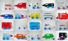 Martine Camillieri's bottle trucks