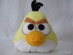 Yellow Angry Bird Plushie