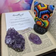 Amethyst Cluster, Amethyst Crystal, Spiritual Awareness, Tumbled Stones, Clear Quartz, Crystals And Gemstones, Kit, India