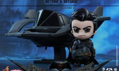 New Hot Toys Batman and Batwing Cosbaby Set
