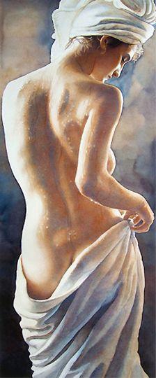 "Fine Art and You: American Watercolor painter-""Steve Hanks"" 1949"