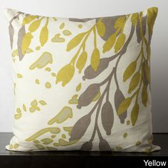 Floral Paint Spash Down Feather or Poly Filled Decorative Throw Pillow | Overstock™ Shopping - Great Deals on Throw Pillows