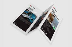 Tríptico | Barbieri Steel Frame, Polaroid Film, Brochures, Trapper Keeper, Note Cards