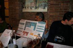 Osteria 2.0 - Il tavolo di Nettamente, in occasione dell'edizione 2012 c/o Caffè Concerto, Modena - Si mangia insieme, chiaccherando di #e-Commerce, #WebMarketing e #MotoridiRicerca. Qui uno dei temi più caldi: i fattori di posizionamento dei siti internet
