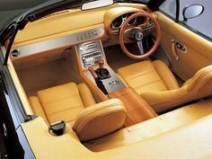 Mazda Miata interior