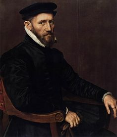 -Sir Thomas Gresham, by Anthonis Mor. 1554. (Rijksmuseum)