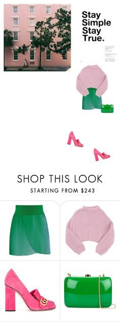 """""""Untitled #818"""" by duoduo800800 ❤ liked on Polyvore featuring STELLA McCARTNEY, Lala Berlin, Gucci and Rocio"""