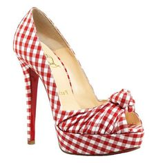 Christian-Louboutin-Greissimo-140-Gingham-Pumps-Red-White.