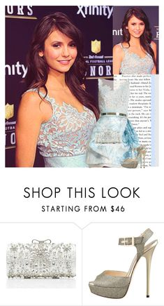 """Nina at the 2nd Annual NFL Honours ♥"" by irish-eyes-were-smiling ❤ liked on Polyvore featuring Zuhair Murad, Forever New and Jimmy Choo"