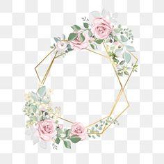 수채화 꽃 경계 Watercolor Flower Background, Flower Background Wallpaper, Wreath Watercolor, Glitter Background, Flower Backgrounds, Wedding Frames, Wedding Cards, Wildflower Drawing, Engagement Invitation Cards