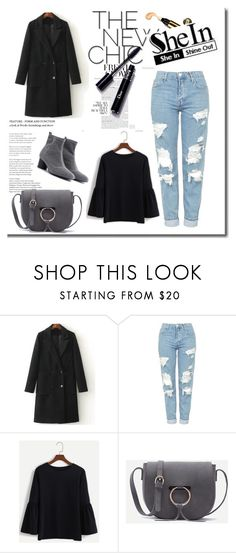 """""""SheIn 3/XII"""" by nermina-okanovic ❤ liked on Polyvore featuring Topshop and shein"""