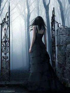 #black #cimetery #die #gothique #fantasy