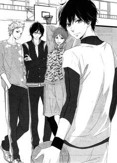 Read Haru Matsu Bokura Time with you online. Haru Matsu Bokura Time with you English. You could read the latest and hottest Haru Matsu Bokura Time with you in MangaHere. Manga Couples, Cute Anime Couples, Fille Anime Cool, Cute Anime Boy, Manga Love, Manga To Read, Manga Art, Manga Anime, Cute Romance