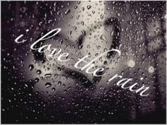 Listing to the rain at night is wonderful.