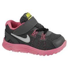 Nike LunarGlide 4 - Toddlers - Running - Shoes - Desert Pink/Reflective Silver/Rave Pink/Black Size 7