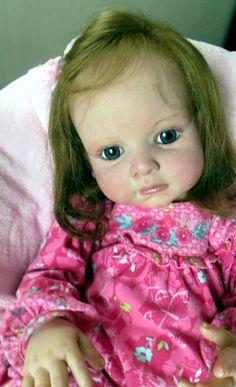 REBORN LEONTYNE BY DANIELLE ZWEERS AND LULLABY LAKE DARLING TODDLER Reborn Toddler, Toddler Dolls, Reborn Babies, Reborn Dolls, Toddlers, Children, Board, Pattern, Ebay