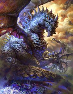 The Evil eating Dragon
