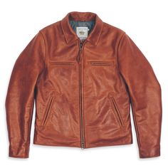 Moto Jacket   Huckberry Leather Men, Leather Jackets, Brown Leather,  Whiskey, Taylor 71a3d6dc936