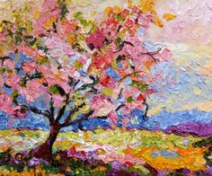 Pink Blossom Tree / Ginette