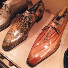 These are the types of shoes only the well dressed men wear.