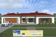 Free House Plans, House Layout Plans, 4 Bedroom House Plans, Family House Plans, Best Exterior House Paint, Single Storey House Plans, Tuscan House Plans, Flat Roof House Designs, House Plans South Africa