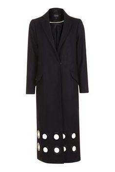 Eyelet Coat