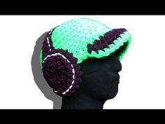 Headphones hat basis lefty crochet pattern - © Woolpedia https://www.youtube.com/watch?v=T-jdlkvG1Mc