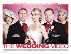 The Wedding Video. Image shows from L to R: Tim (Robert Webb), Saskia (Lucy Punch), Raif (Rufus Hound), Patricia (Miriam Margolyes). New Comedy Movies, Funny Movies, Film Movie, New Movies, Films, Lucy Punch, Cinema Times, British Comedy, August Wedding