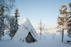 Kota is a traditional Lapp teepee, a traditional dwelling of Sami