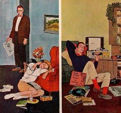 Cool Record, 1962 - Illustrated by Amos Sewell.