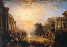 The Decline of Carthage - JMW Turner, 1817