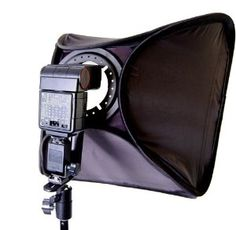 Amazon.com: CowboyStudio Photo / Video 16 inch Speedlight Flash Softbox with L-Bracket, Shoe Mount and Carry Case: Camera & Photo $35