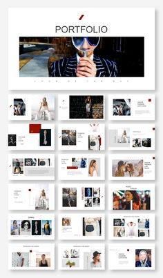 Model Photography Presentation Template – Original and high quality PowerPoint Templates download
