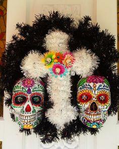 Dia de los Muertos wreath  2014