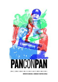 Cartelería del cortometraje Pan con pan III  Lara&Marta